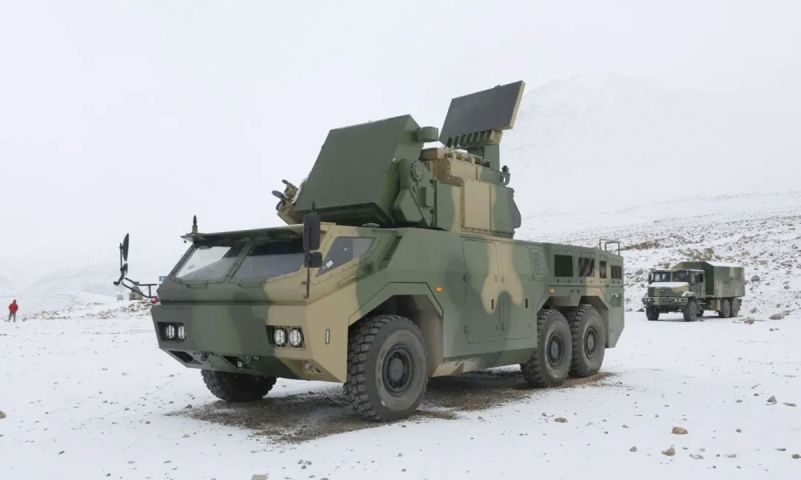 HQ-17AE Mobile Air-defence System