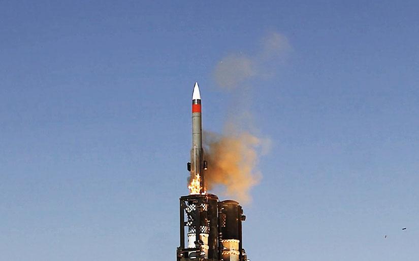Israel Aerospace Industries Tests BARAK ER (Extended Range) Missile