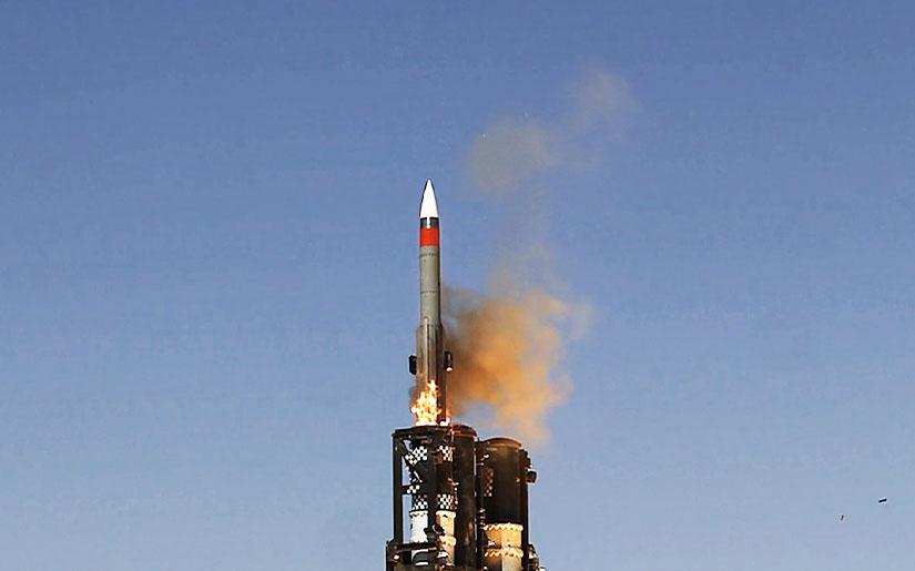 Israel Aerospace Industries tests BARAK-8 Extended Range (Long-range Surface-to-air Missile/LRSAM) missile