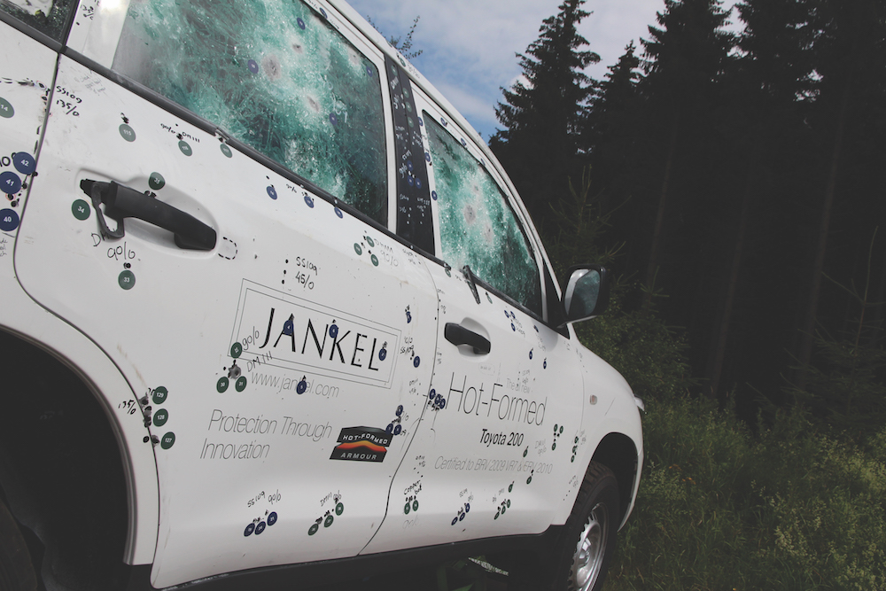 Jankel Hot-Formed Armoured Toyota LC 200