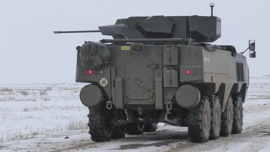 Kazakhstan Evaluates Turkish-Made Otokar 8x8 Arma Armored Combat Vehicle