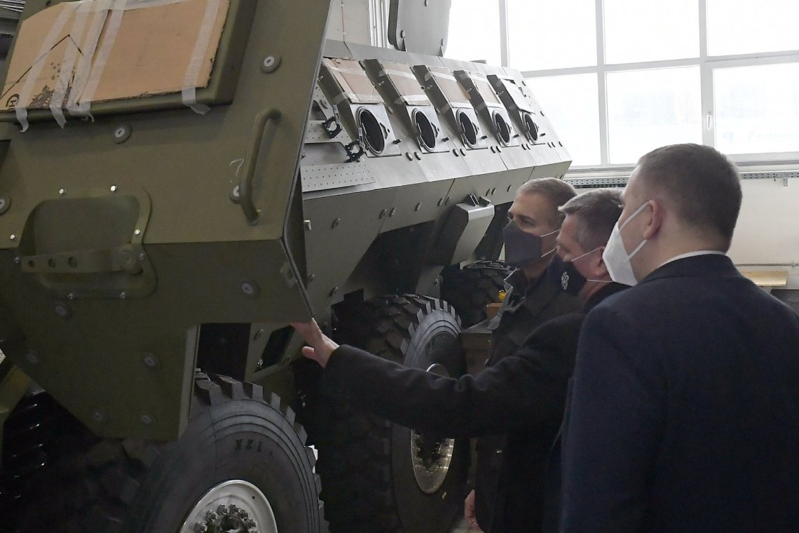 Lazar 3 8x8 Armoured Personnel Carrier