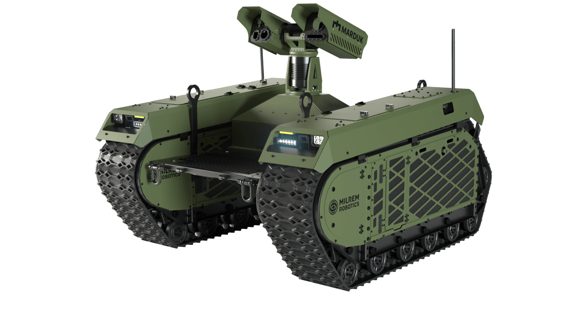 Milrem Robotics and Marduk Technologies Launch Autonomous Counter Unmanned Aerial System (C-UAS)