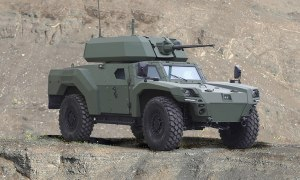 "Otokar Unveiled Its Electric Armored Vehicle ""AKREP IIe"""