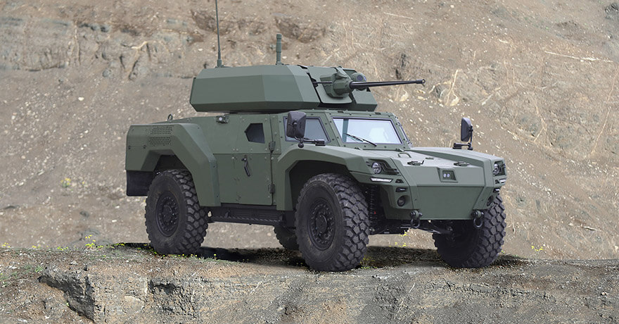 Otokar Unveiled Its Electric Armored Vehicle AKREP IIe