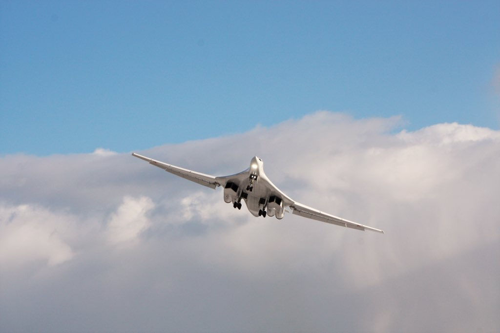 Tupolev Delivered Modernized Tu-160M ​​Strategic Bomber with New NK-32 Series 02 Engines
