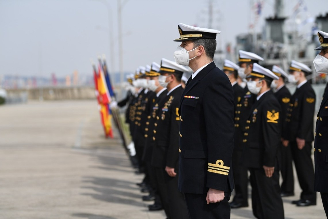 Turkish Navy Takes Over Command of Standing NATO Mine Countermeasures Group 2
