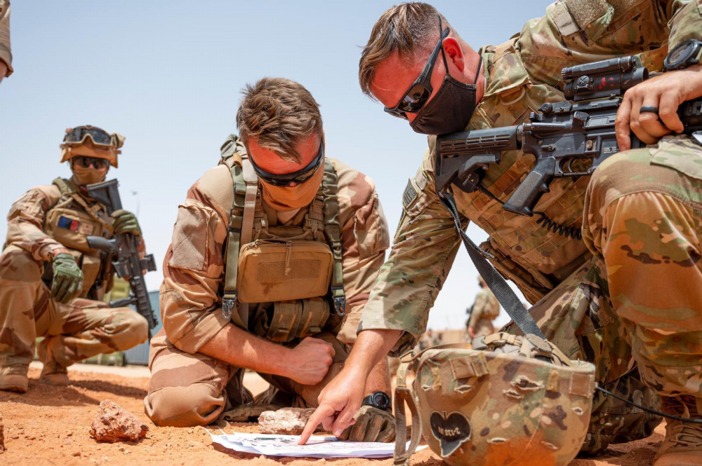 US Africa Command Forces Conduct Operational Assessment in Timbuktu, Mali