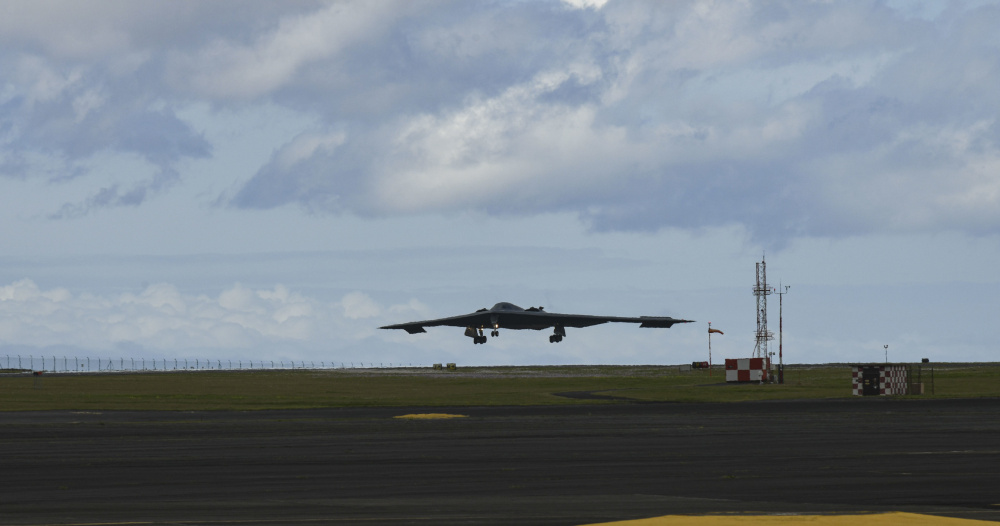US Air Force B-2 Spirit Stealth Bombers Integrates with NATO Ally at Lajes Field, Portugal