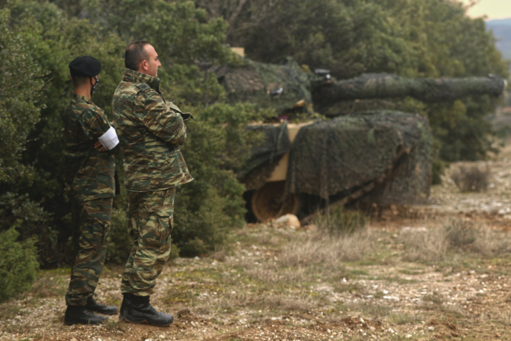 US Army Armored Units Train with Greek Army in Operation Thracian Cooperation 21