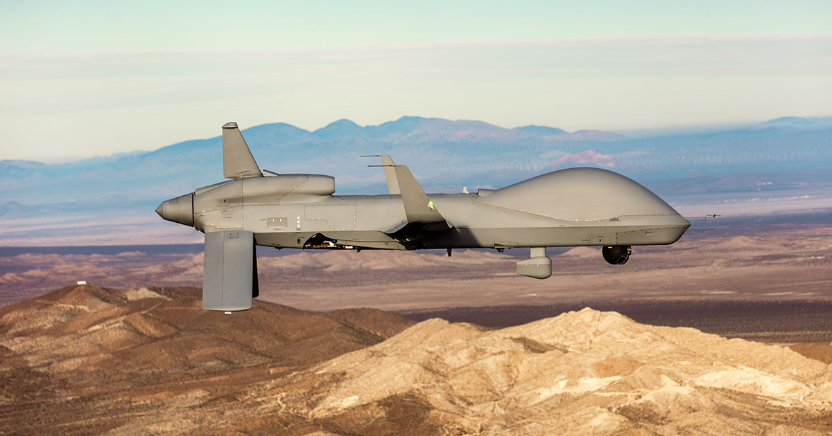 US Army Uses GA-ASI SC2 to Control Gray Eagle Extended Range UAS