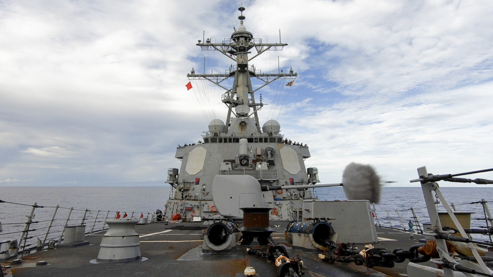 US Military News • US Navy Guided-Missile Destroyer • Weapons Live Fire • UK June 01, 2021