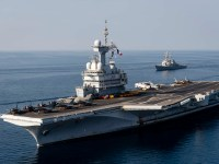 US Navy USS Donald Cook Supports French Navy Charles de Gaulle Carrier Strike Group