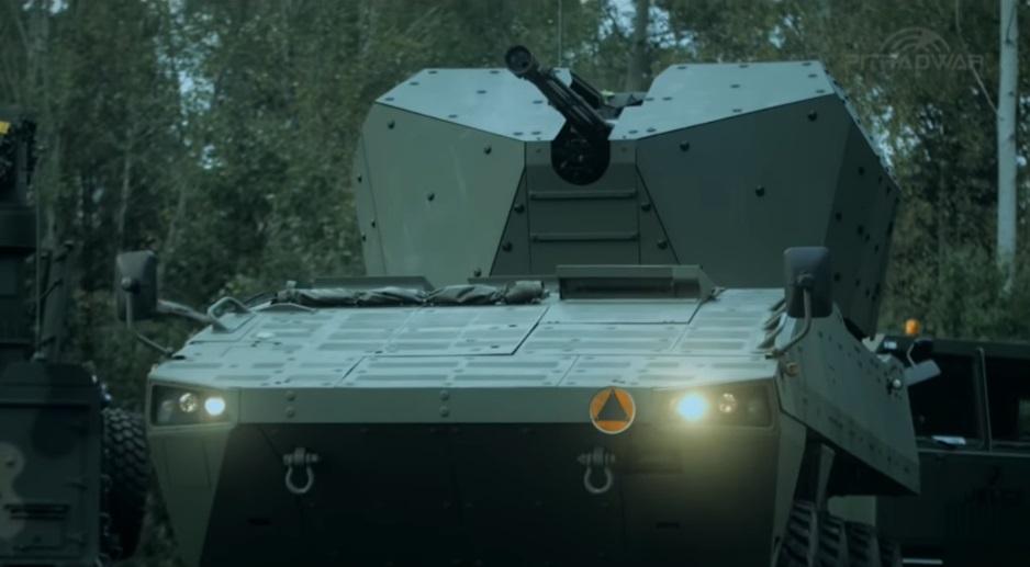 AG-35 35 mm self-propelled gun based on Rosomak 8x8 armoured personnel carrier