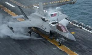 15th MEU F-35Bs depart USS Makin Island in support of Agile Combat Employment