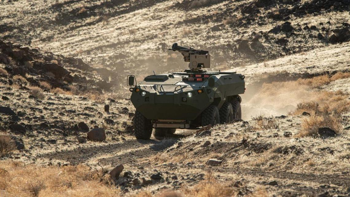 Textron Systems Unveils Prototype of Cottonmouth Advanced Reconnaissance Vehicle