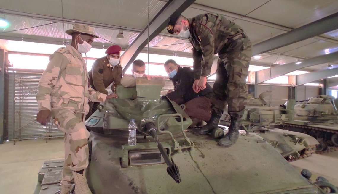 Turkish Supplied M60 Main Battle Tanks to Libya