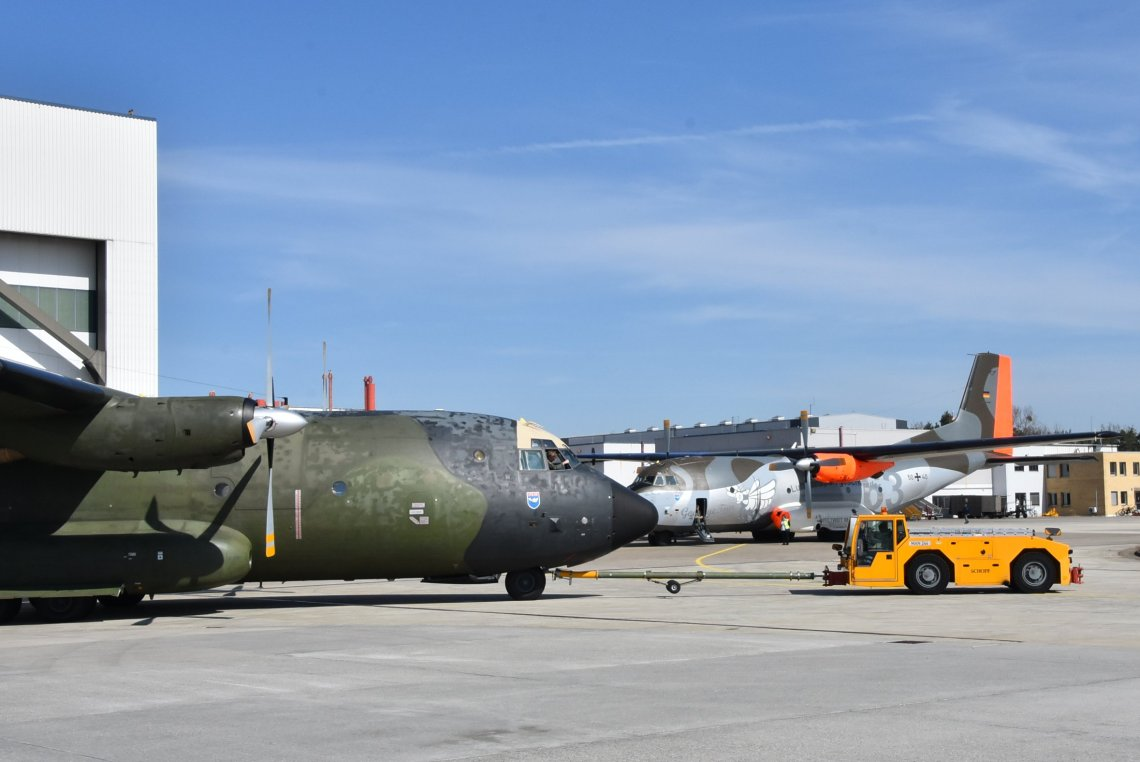 Airbus Delivers Last Overhauled C-160 Transall to German Air Force