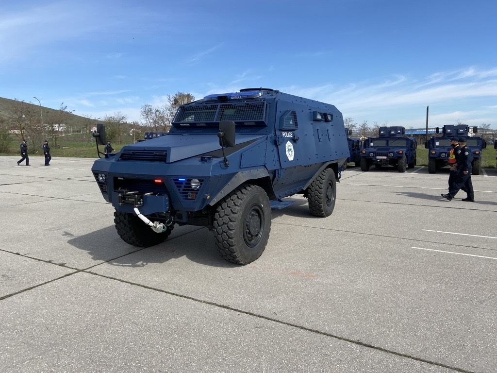 AM General Delivers Bastion Armored Personnel Carriers to Kosovo Ministry of Defense