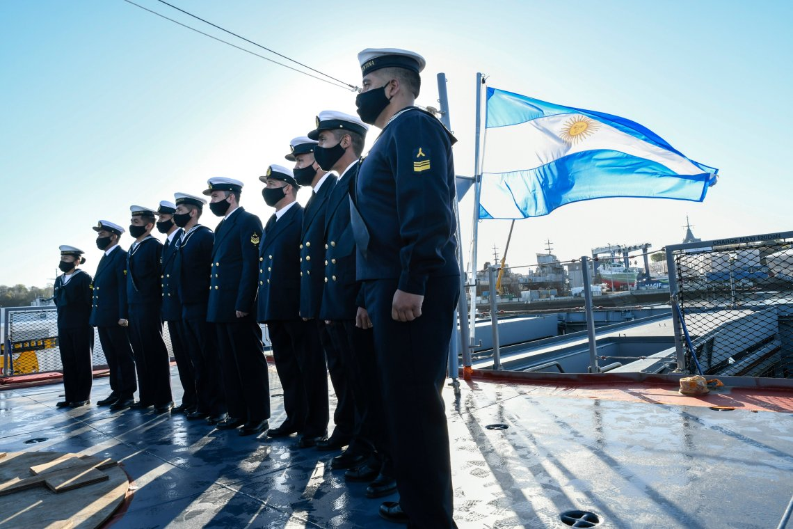 Argentine Navy Receives Second Argentinian Offshore Patrol Vessel (OPV 87) from Naval Group