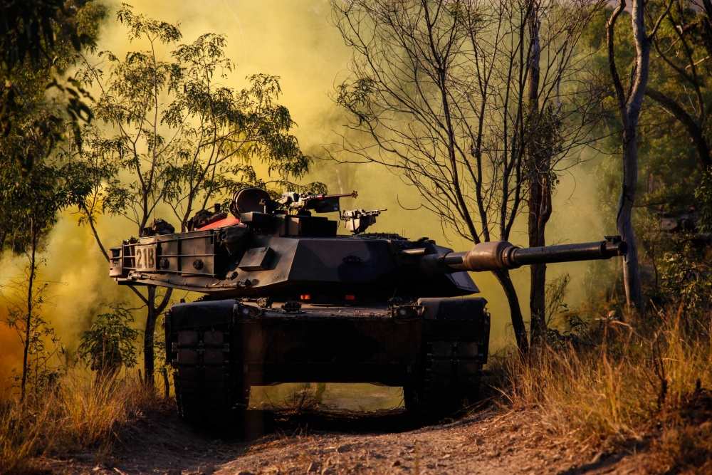 Australian Army M1A1 Main Battle Tank