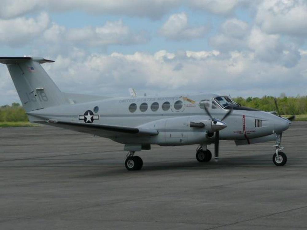 Beechcraft UC-12B Huron Transport Aircraft