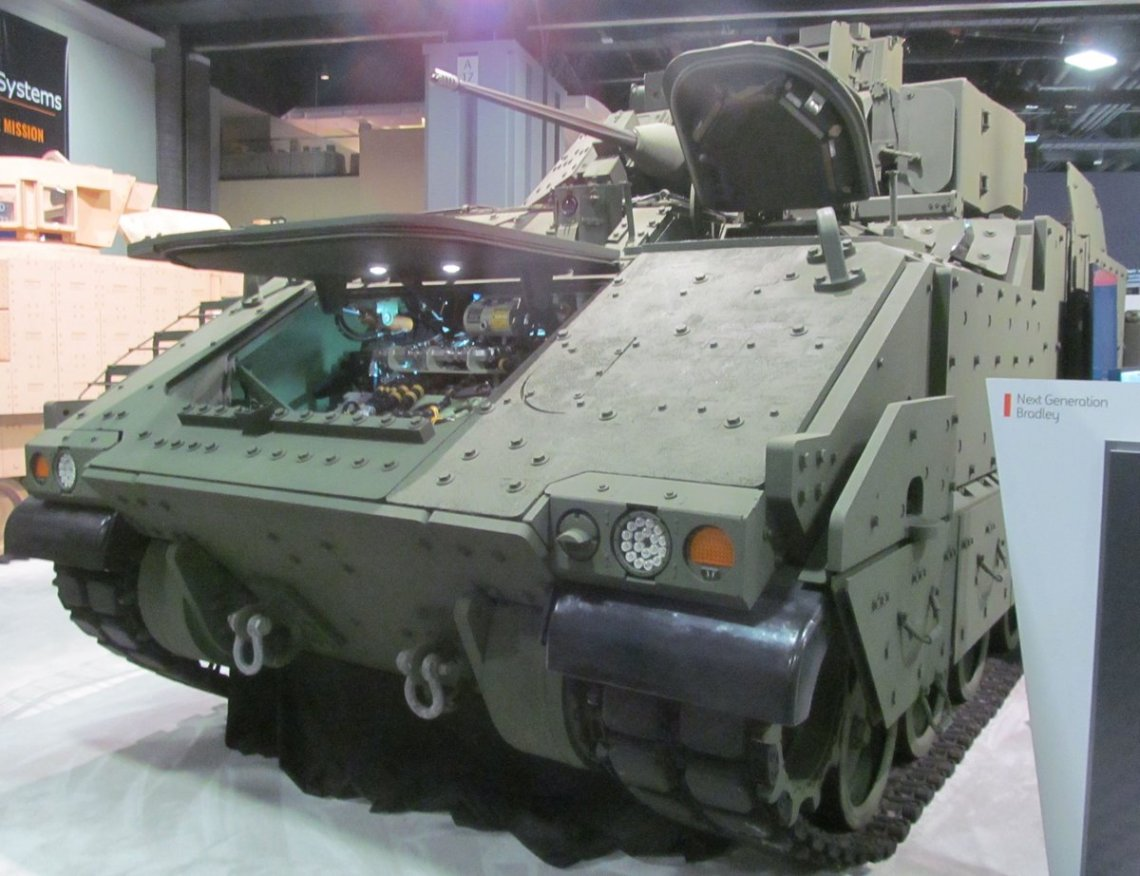 Bradley Next Generation, with UT30 Mk2 turret