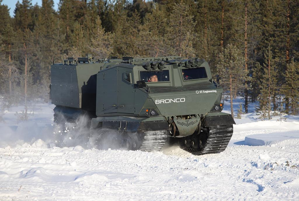 Bronco 3 All Terrain Tracked Carrier (ATTC)