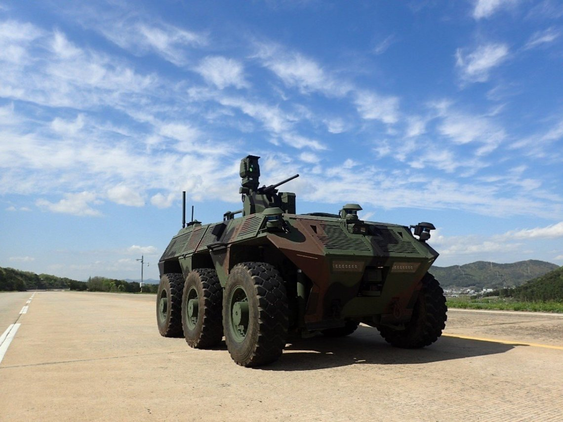 DAPA 6×6 Unmanned Surveillance Vehicle (USV)