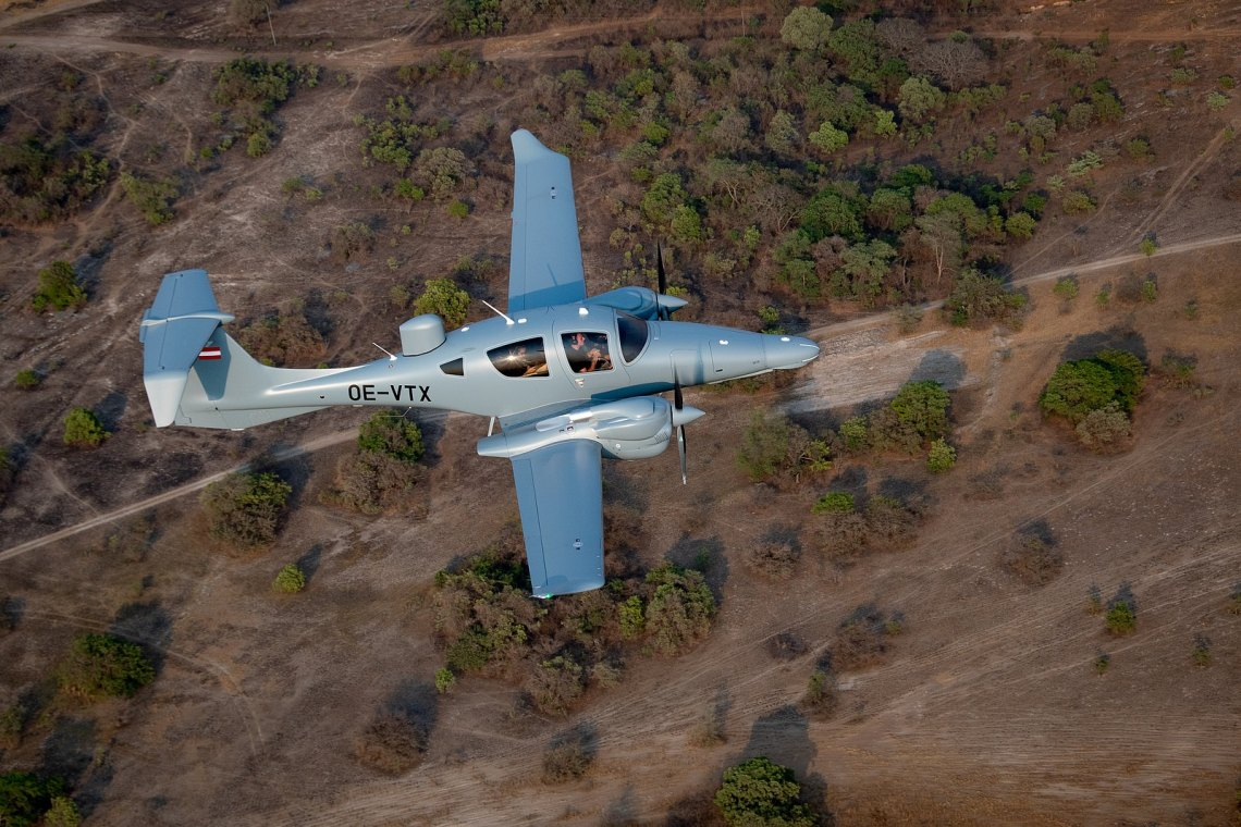 Diamond Aircrafts` Special Mission Aircraft Partners with PistonPower