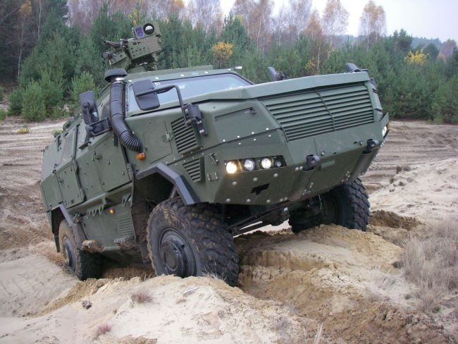 Dingo 2 HD (Heavy Duty) All-Protected Vehicle