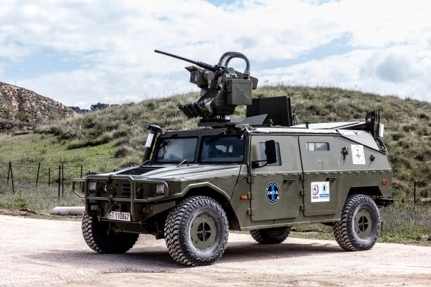 URO VAMTAC vehicle with Escribano's GUARDIAN 2.0 station