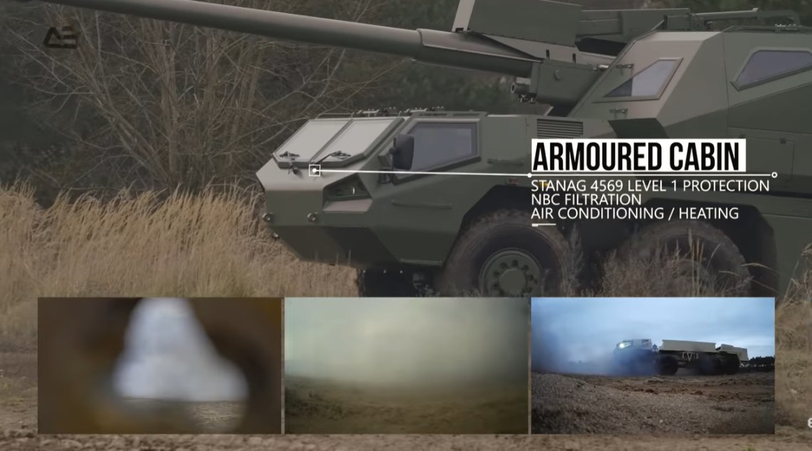 Excalibur Army DITA 155mm Self-Propelled Howitzer