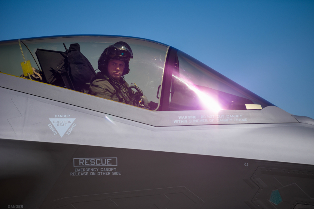 First Danish F-35s land at Luke AFB