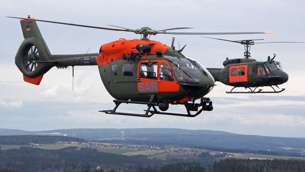 German Armed Forces Retired UH-1D Huey After 53 Years of Service