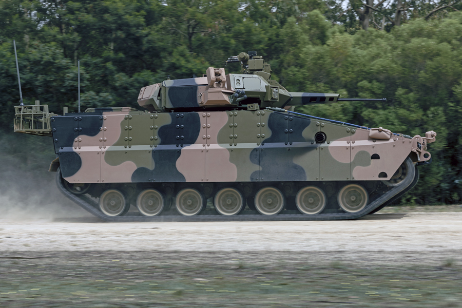Hanwha AS21 Redback Infantry Fighting Vehicle