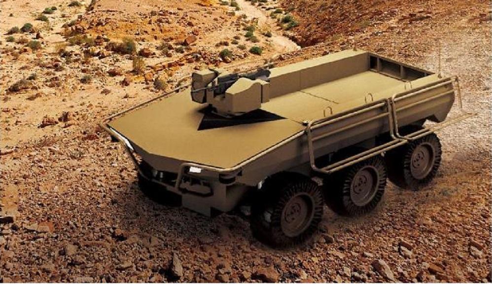Hanwha Defense Upgrades Multi-purpose Unmanned Ground Vehicle (UGV) for Overseas Sales