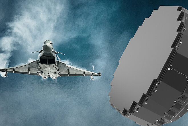 HENSOLDT to Deliver Radars for Quadriga Eurofighter Typhoon Aircrafts