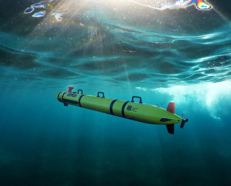 Huntington Ingalls Industries Unveils REMUS 300 Unmanned Underwater Vehicle (UUV)