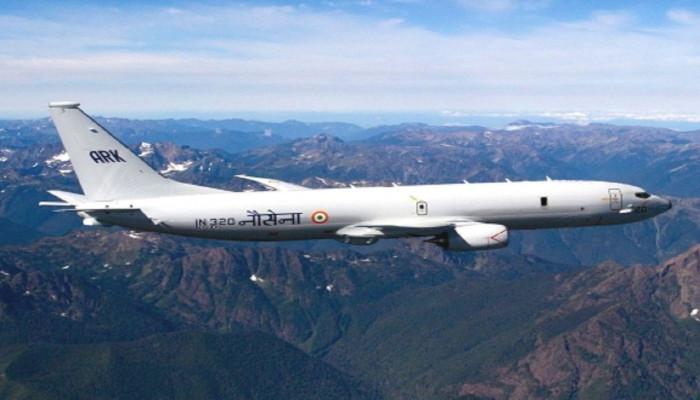Indian Navy P-8I Long-range Anti-submarine Warfare Aircraft