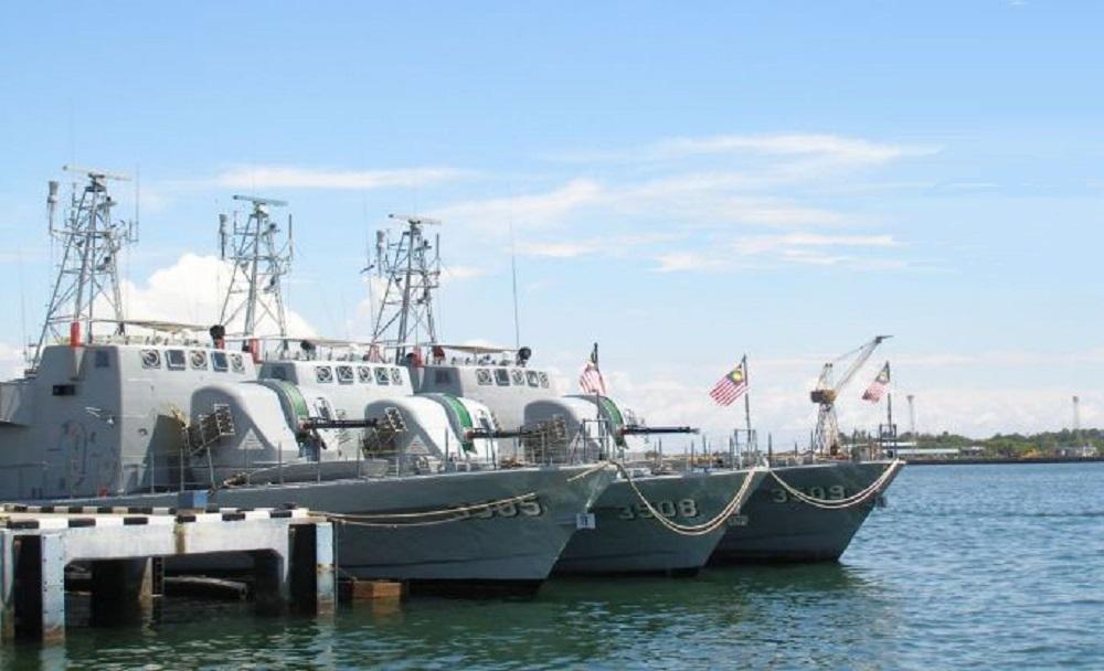 Royal Malaysian Navy Jerong class fast attack craft