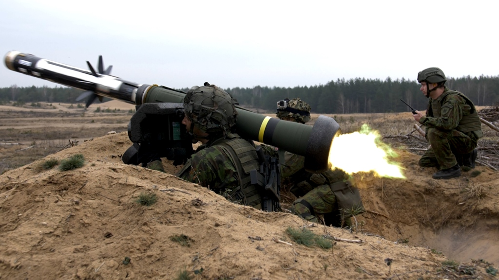 Lithuania Javelin Anti-tank Guided Missiles