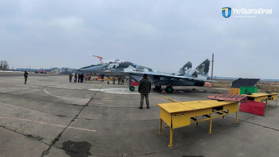 Lviv State Aircraft Repair Plant Hands Over MiG-29UB to Ukrainian Air Force