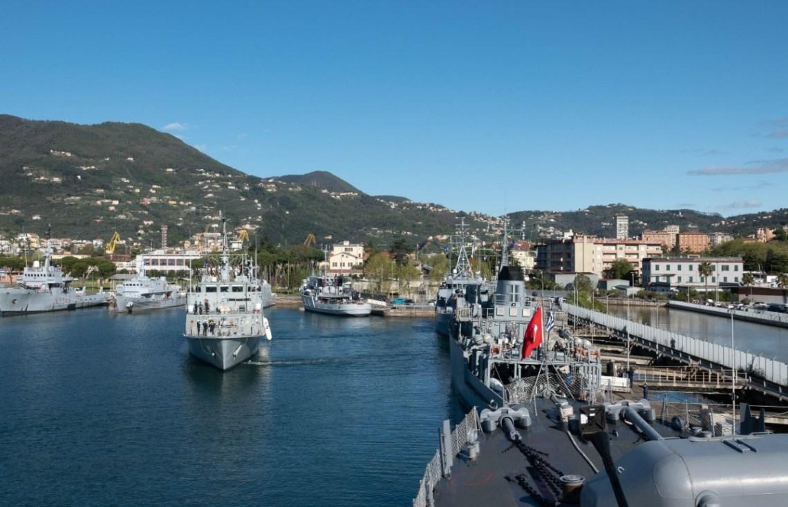 NATO Ships Participate in the Italian Mine Warfare Exercise