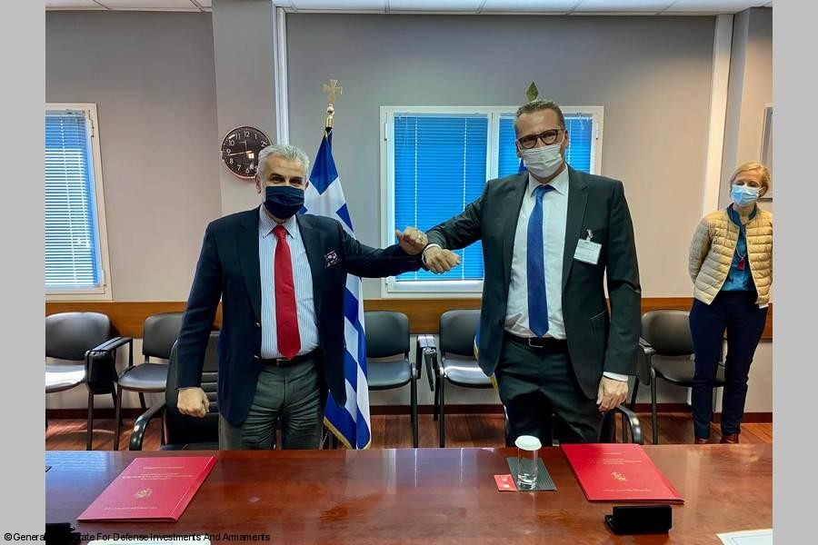 NHIndustries and Hellenic Ministry of Defence Signed Contract Amendment in Athens