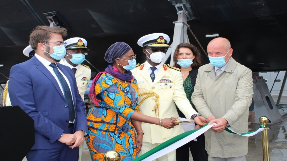 Nigerian Navy Receives NNS Lana (A499) Hydrographic Research Vessel