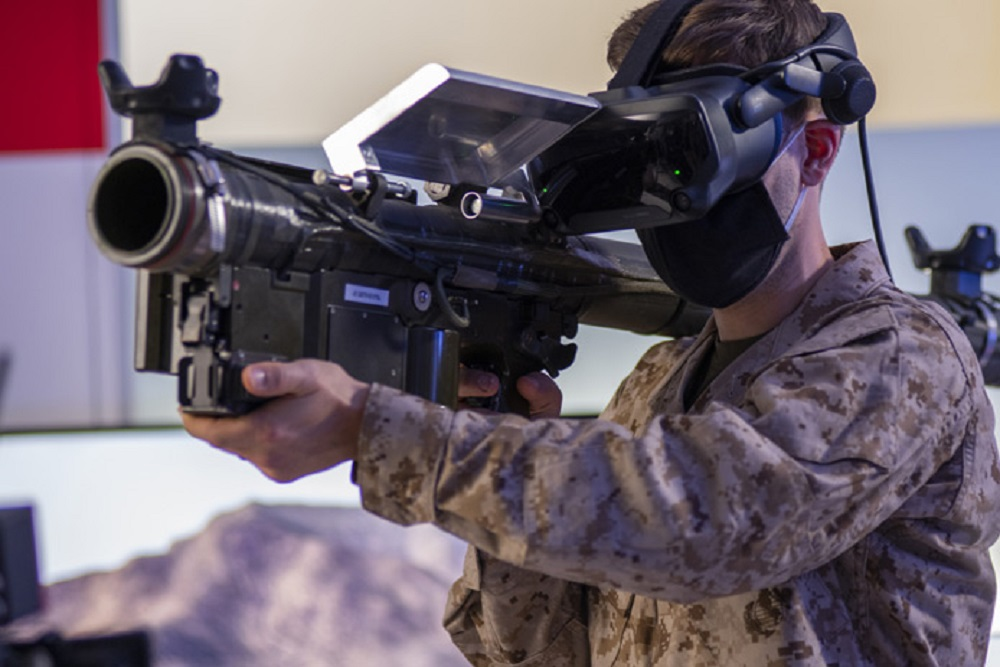 Raytheon Technologies-built Stinger Virtual Trainer Offers Hyperrealistic Experience