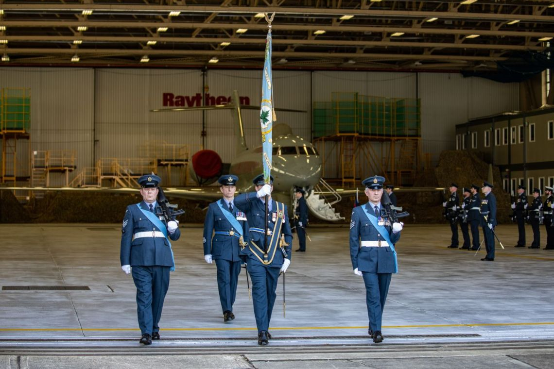 Royal Air Force have officially disbanded V (Army Cooperation) Squadron.