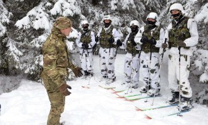 Royal Marine Shares Arctic Expertise in Serbia