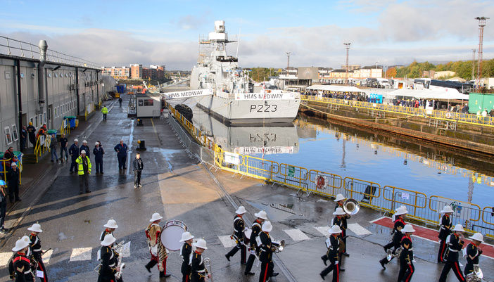 Royal Navy Offshore Patrol Vessel HMS Medway